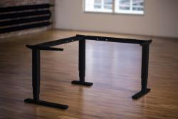 Height Adjustable Desk Ergo2Move Vertex 90° black (Steel)